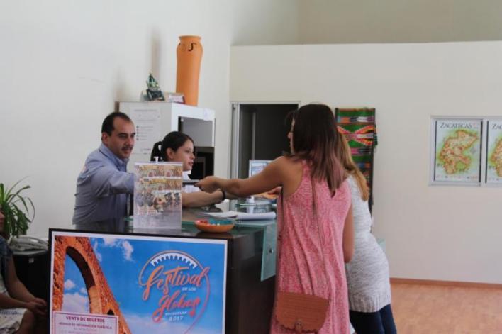 Tourist Information Module in Zacatecas
