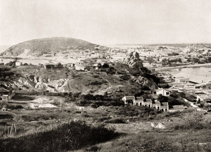 Vista panorámica de Mazatlán, desde el cerro del Vigía - Mazatlán, Sinaloa  (MX14831051490303)