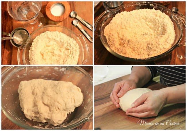 tortillas de harina, sigue estos sencillos pasos para prepararlas
