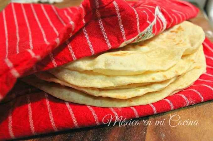 Cómo hacer tortillas de harina, receta detallada y comprobada