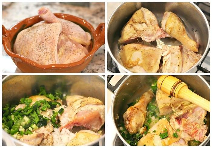 Pollo entomatado sigue estos sencillos pasos
