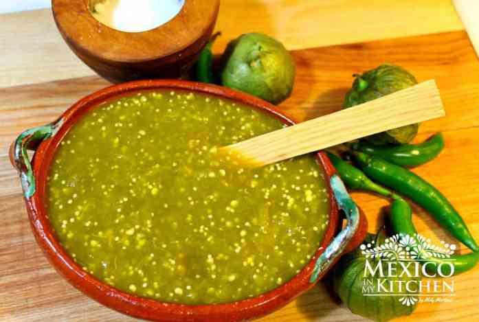 Receta de salsa verde