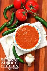 Salsa roja frita