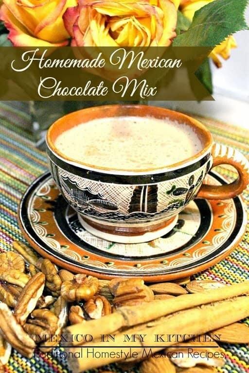 Disfruta de esta deliciosa bebida, Chocolate caliente mexicano