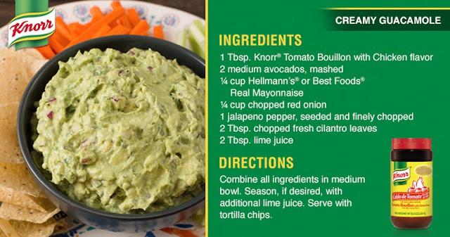 Knorr guacamole