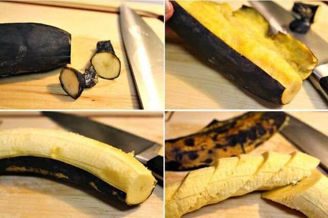 Plátanos Fritos, instrucciones paso a paso