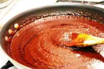 Pastel azteca de Mole, plato fácil de preparar