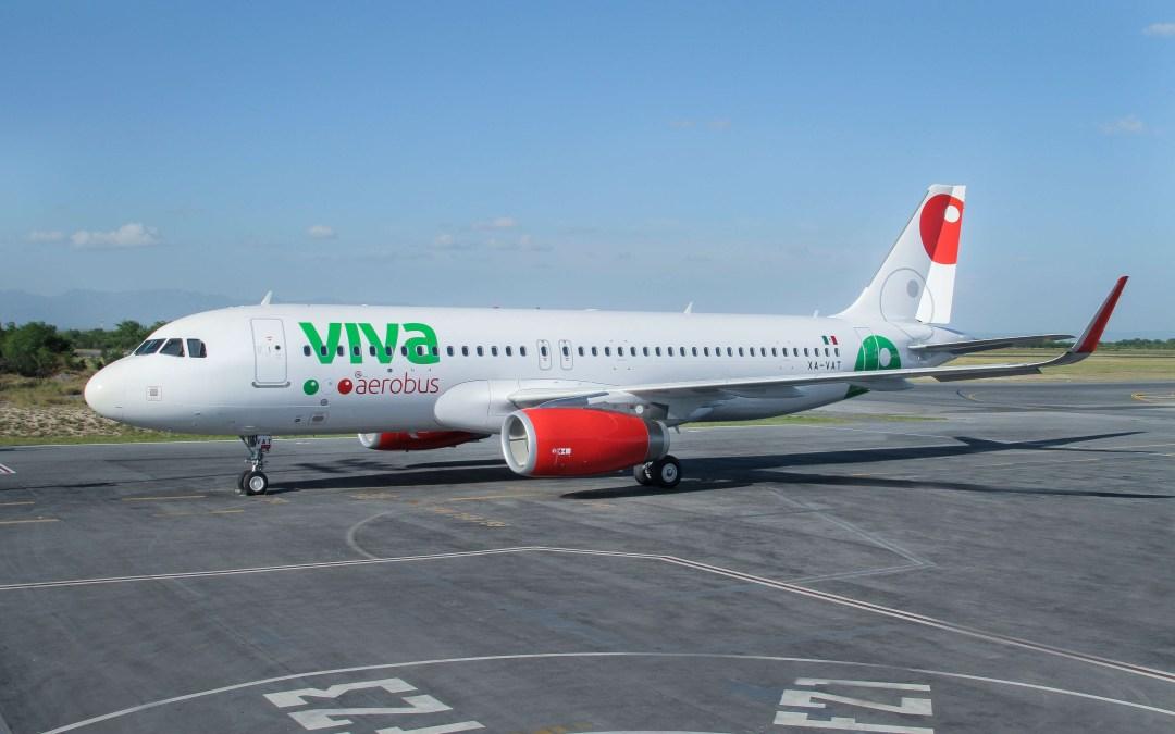 Celebra VivaAerobus vuelo Monterrey-Las vegas