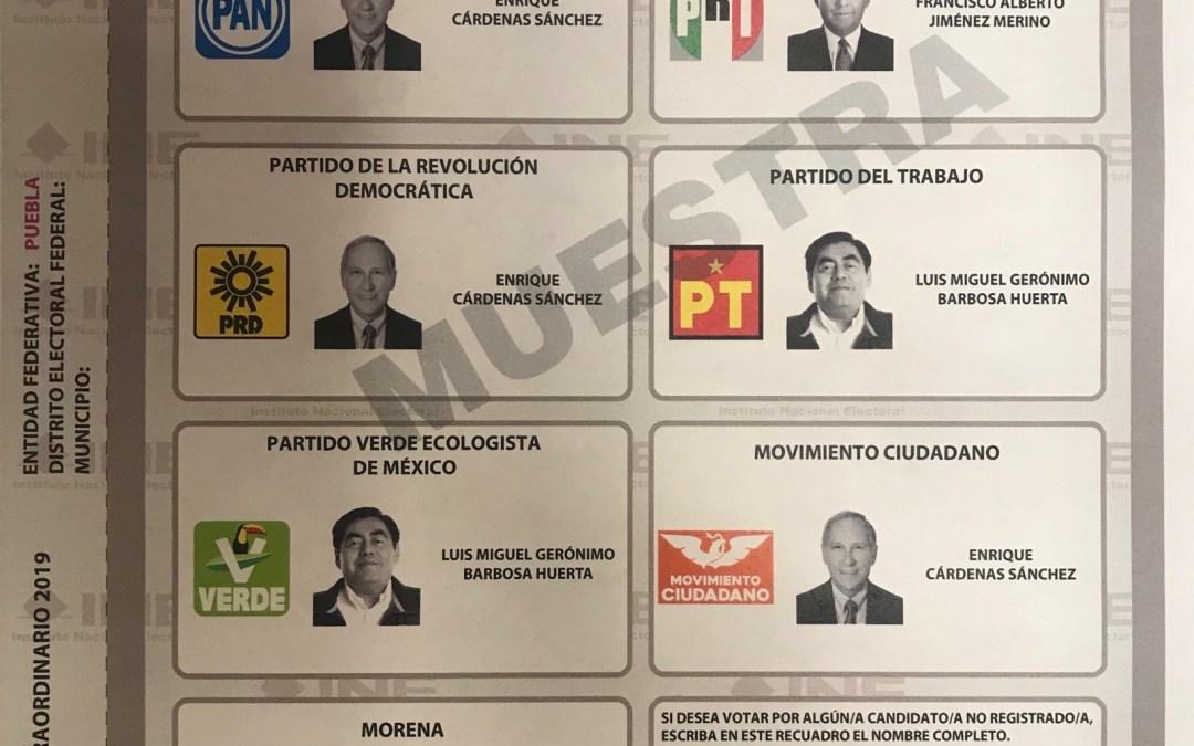 Conteo prep de Puebla arranca el domingo a las 19:00 horas: INE