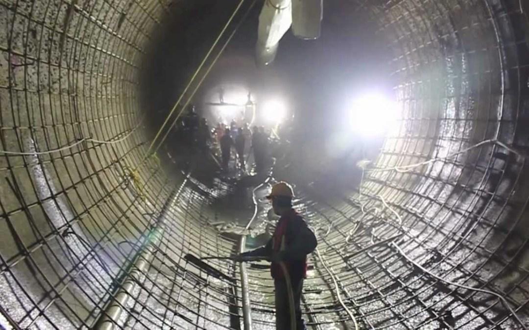 En julio estará en operación  Túnel Emisor Oriente