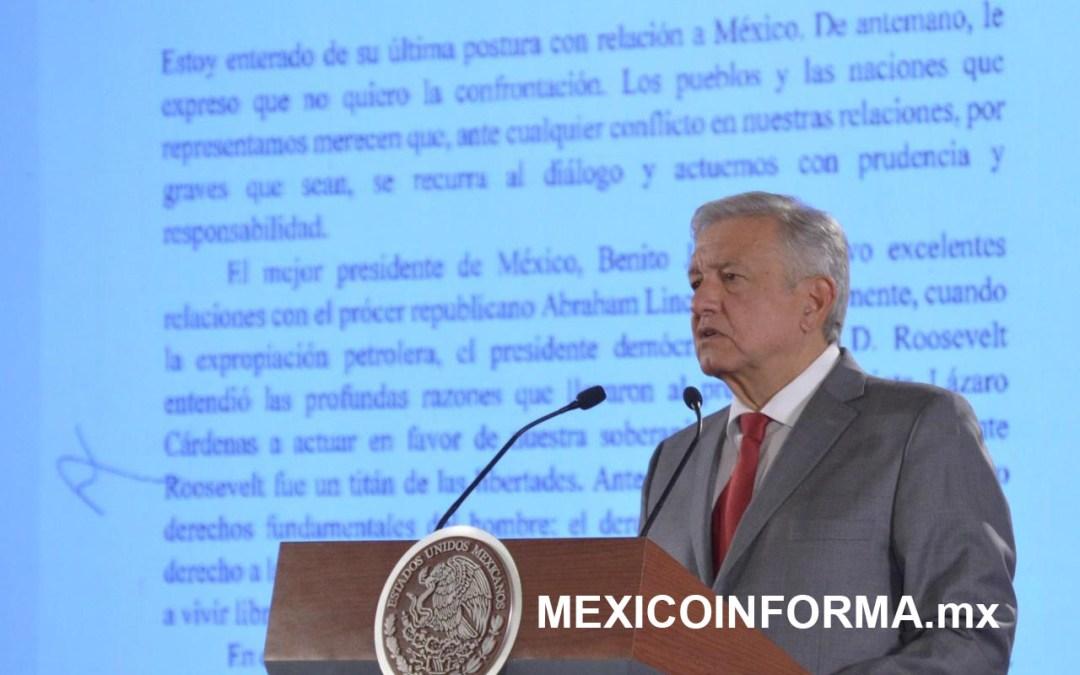 Llama AMLO a todos los mexicanos a cerrar filas