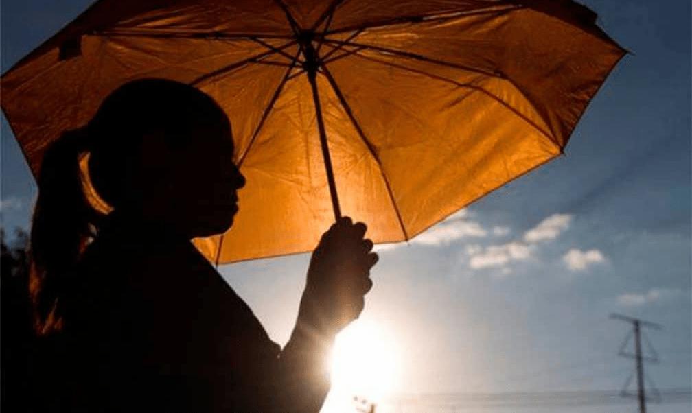 Ambiente muy caluroso y lluvias, en gran parte del país