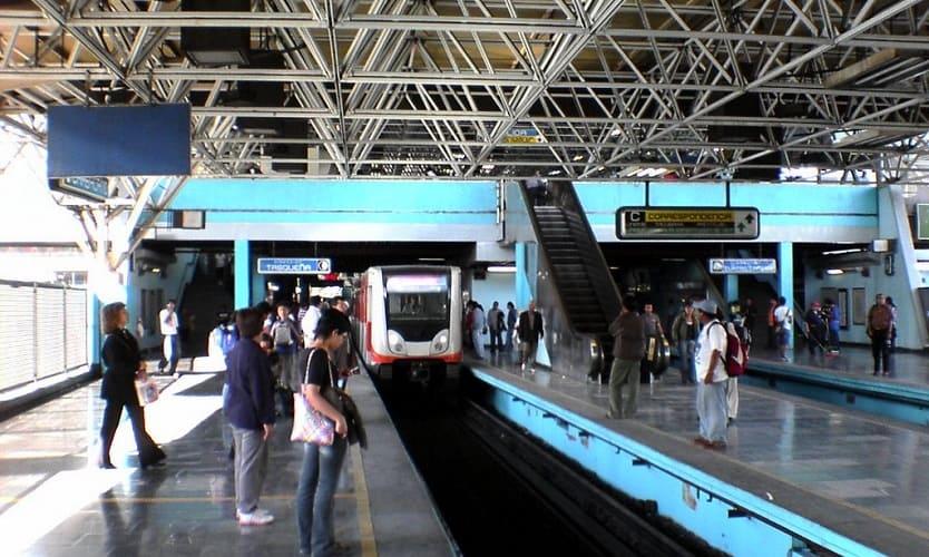 Chispazo en estación Chabacano del Metro