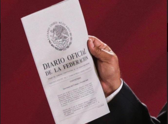 Publican en Diario Oficial de la Federación la Ley Federal del Trabajo
