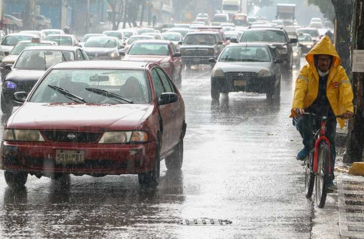 Se esperan lluvias ligeras en la CDMX y fuertes por la tarde-noche