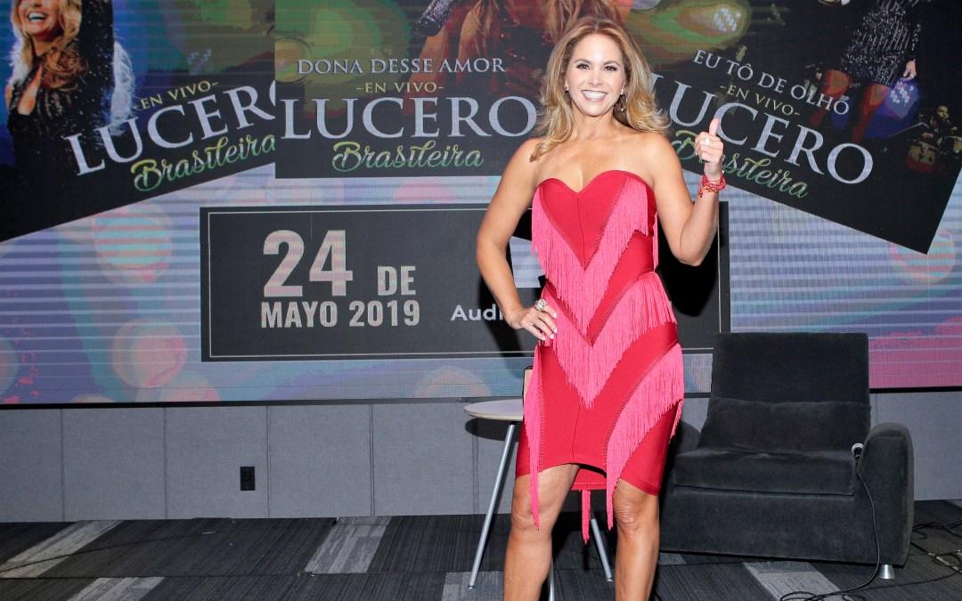 Contenta Lucero por nuevo disco y línea de zapatos y bolsas