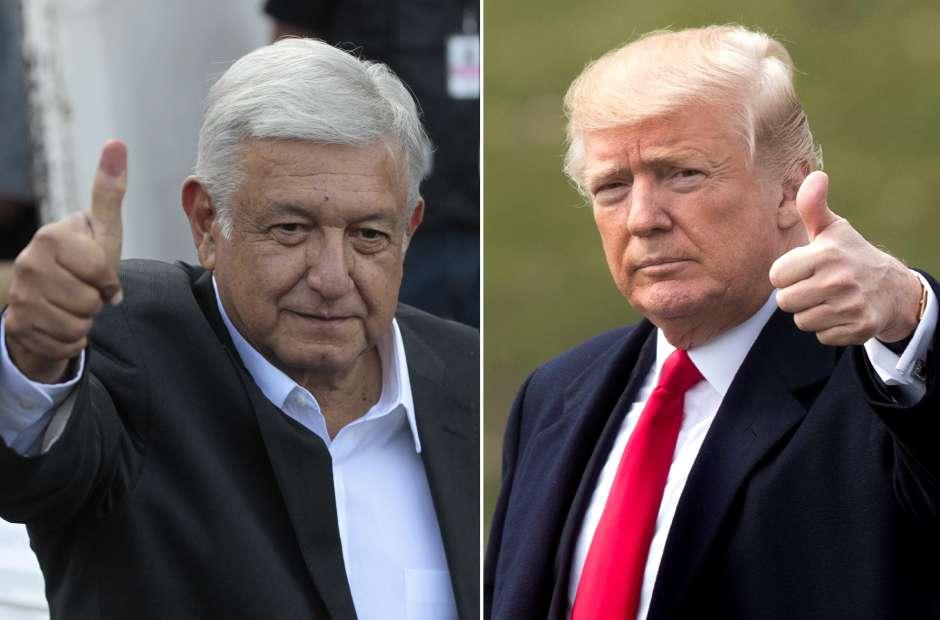 Confía Trump en que México será muy cooperativo