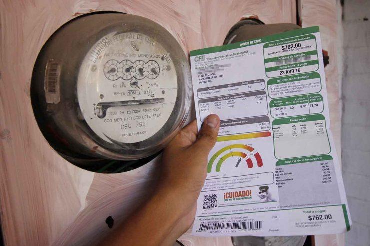 La instrucción es que no haya aumentos en tarifas de luz.- López Obrador