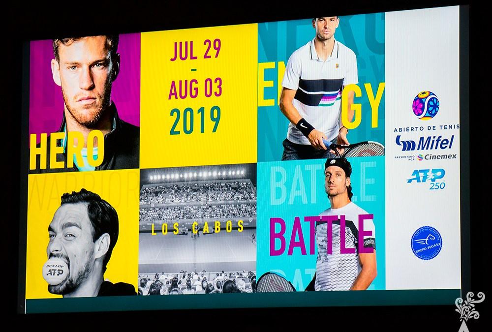 Abierto de Tenis Los Cabos revela lista para edición 2019