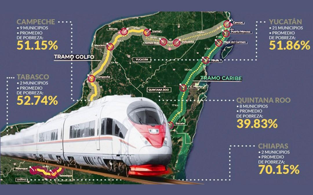 Modifican ruta del Tren Maya para economizar más de cinco mil mdp