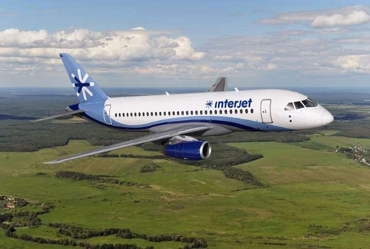 Incrementa Interjet 26 %  número de pasajeros internacionales transportados