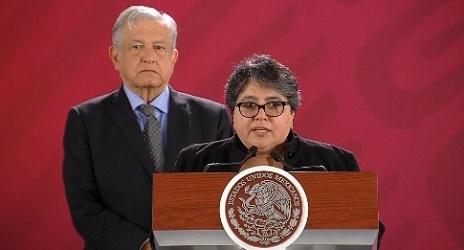 Raquel Buen Rostro al SAT