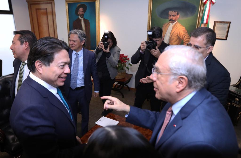 Llama Gurría a acelerar los procesos de cambio en México