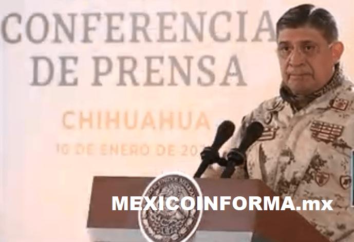 Cinco municipios de Chihuahua con mayor delincuencia: Sedena