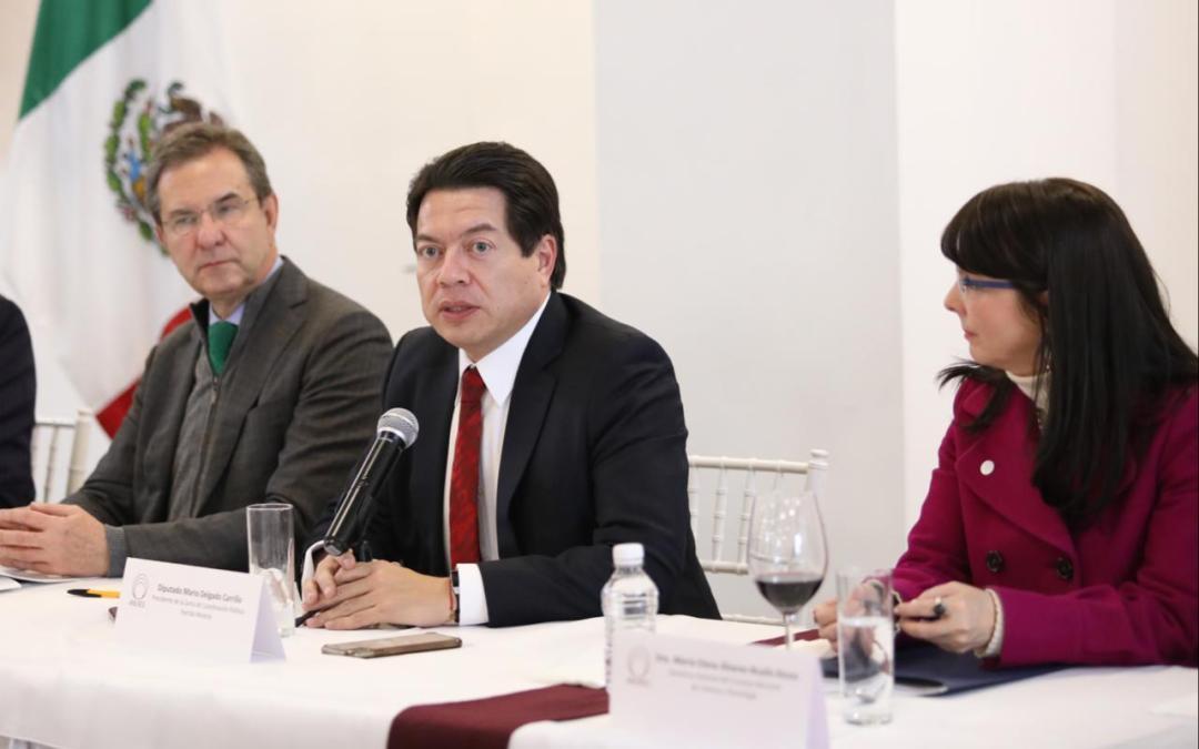 Financiamiento a universidades deberá ser bajo principios de austeridad de la 4T: Mario Delgado