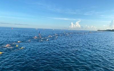 Extraordinario IRONMAN en Cozumel con más de 3 mil triatletas