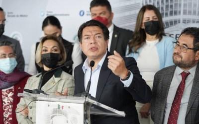 Celebra Delgado unidad de gobernadores, legisladores y líderes para que siga 4T