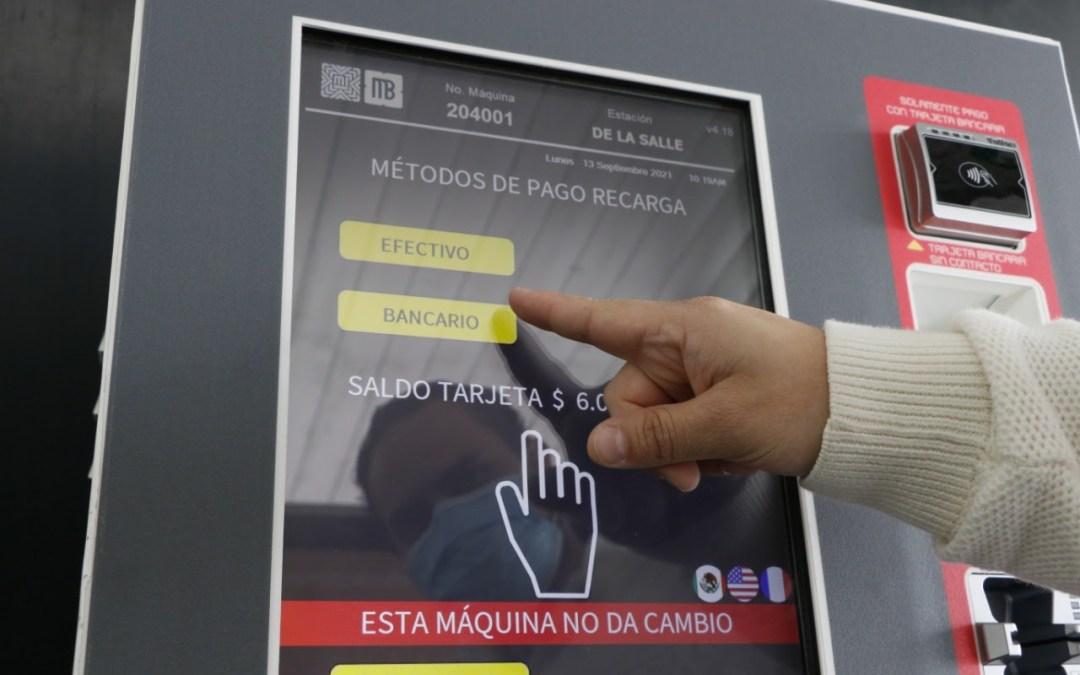 Inicia pago con tarjetas bancarias el servicio de metrobús
