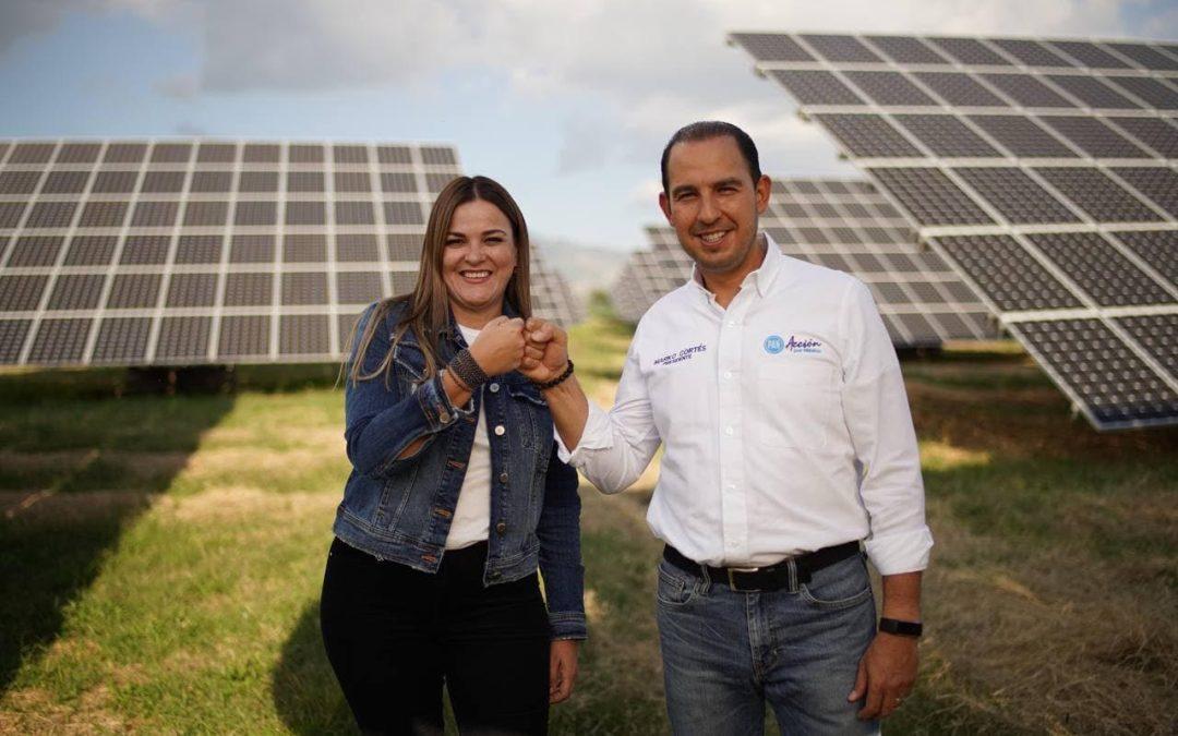 Realiza PAN campaña a favor de energías limpias y más baratas
