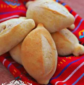 Mexican Bolillos: Crusty Rolls
