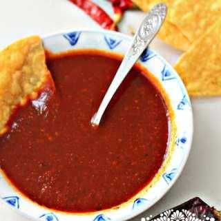 Red Taquería Style Salsa