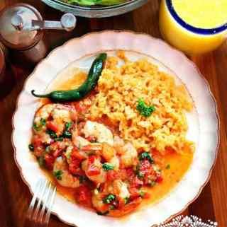 Shrimp Mexican Style or Ranchero