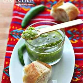 Fried Serrano Pepper Salsa – Salsa de Chile Serrano Frita