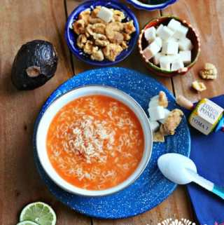 Alphabet Soup Recipe – Sopa de Letras