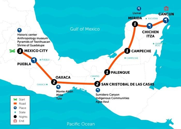 SAT Mexico Tours viva mexico 11 days