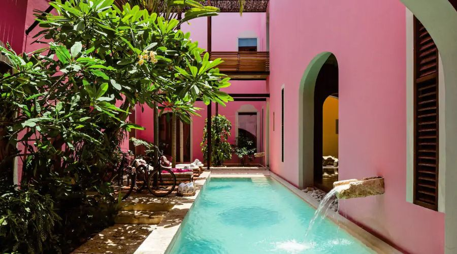 sat mexico tour and travel Rosas & Xocolate Boutique Hotel Spa