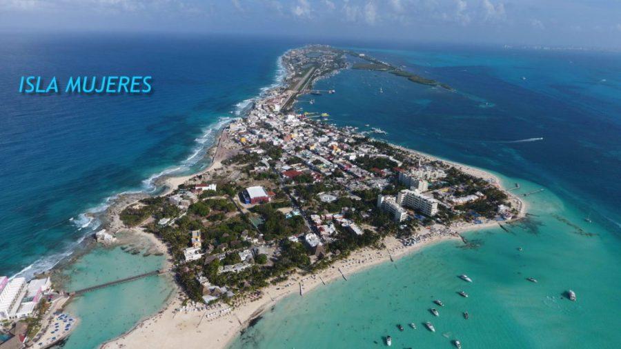 Isla Mujeres on Yacht