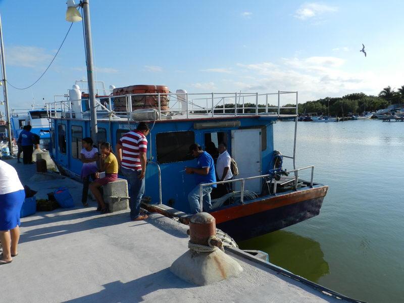 Isla Holbox boat