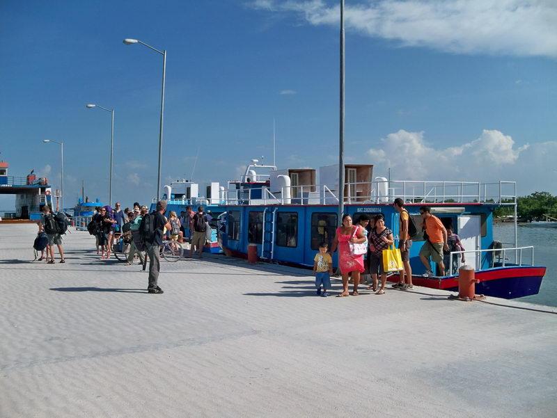 Holbox Island pier