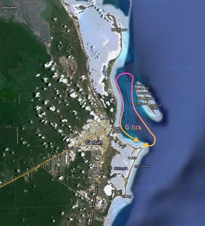 Navegando 6 horas en yate