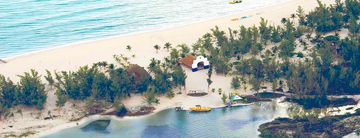 Beach Isla Pasion Cozumel