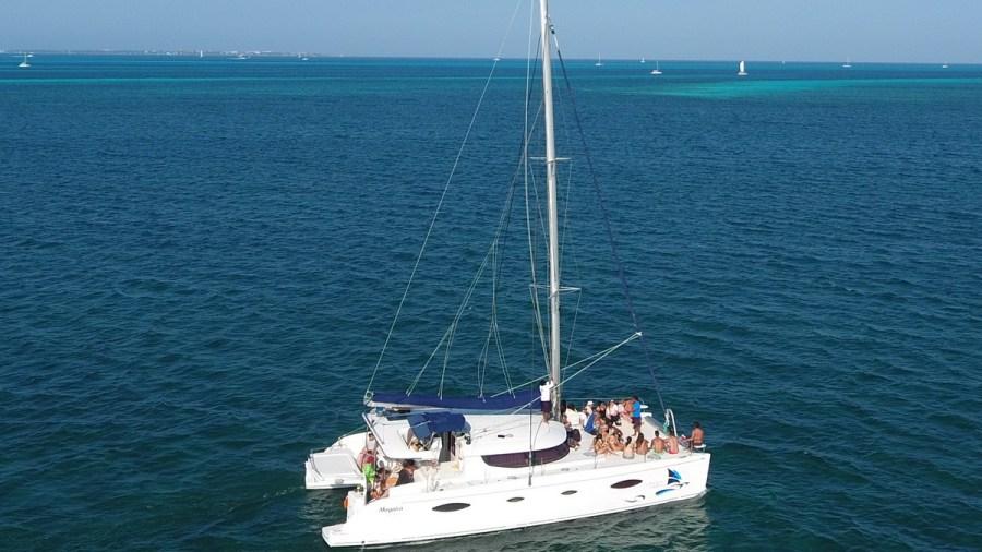 Catamaran for 40 people
