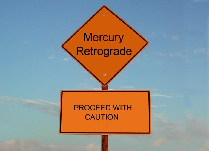 How I survived Mercury Retrograde?