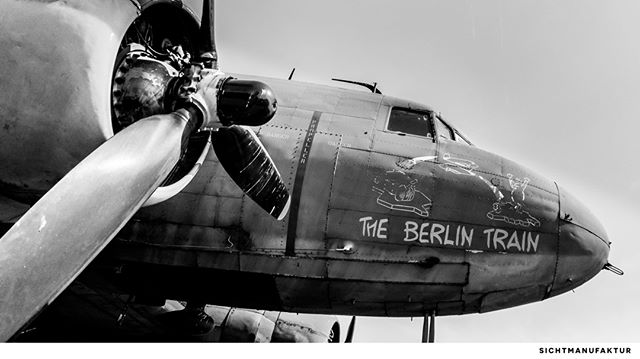 """The """"Candy Bombers"""" – helped Berlin to resist to the blockade in 1948 and 1949 @frankfurtairport"""