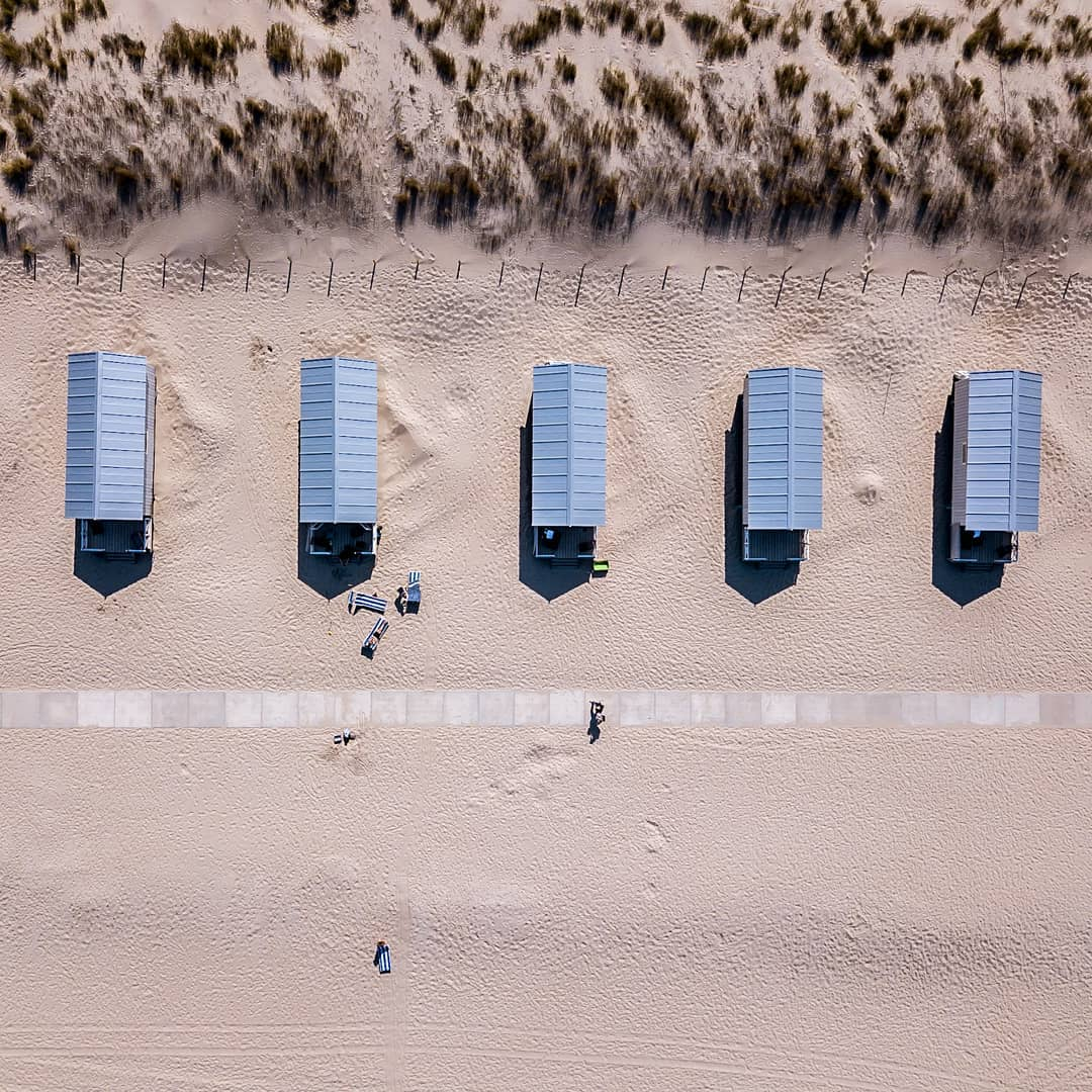 Strandhuisjes @kijkduinstrandh @beachclubtitus