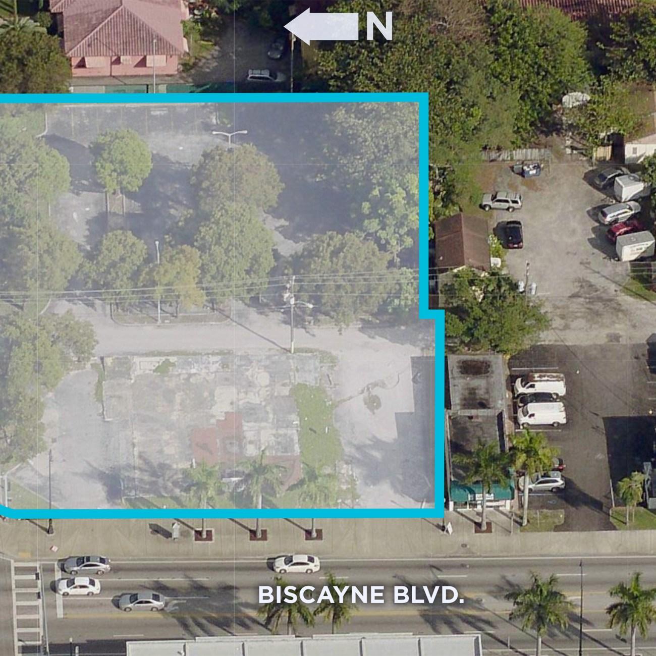 Cushman & Wakefield Brings Biscayne Boulevard Site To Market
